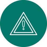 Vector Altri pericoli Icona del segno di strada