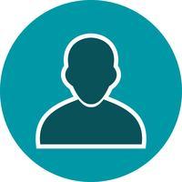 Illustrazione di vettore dell'icona dell'avatar