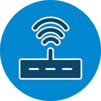 Icona del router di vettore
