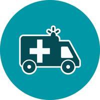 Icona dell'ambulanza di vettore