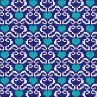 maglia di cuori nordici vettore