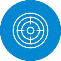 Illustrazione di vettore dell'icona di scopo
