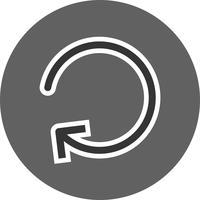 Icona di aggiornamento del vettore