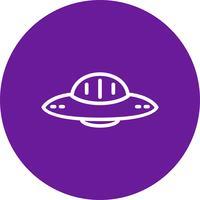 Icona Ufo vettoriale