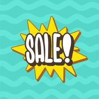 tipografia di vendita vettore