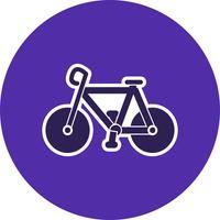 Icona della bicicletta di vettore