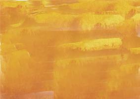 Sfondo acquerello dipinto a mano colorato. Pennellate di acquerello giallo. Struttura astratta dell'acquerello e sfondo per il design. Priorità bassa dell'acquerello su carta ruvida.