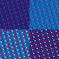 modelli di sfondo stelle rosse bianche blu