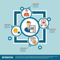 Icona di gestione piatta