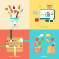 Set piatto supermercato