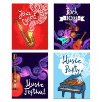 Set di mini poster musicali