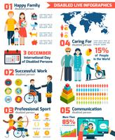 Set infografica disabili
