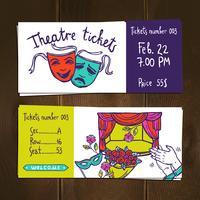 Set biglietti teatrali