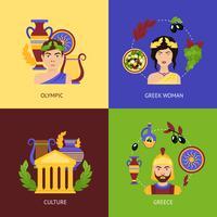 Set piatto Grecia