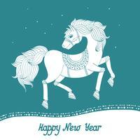 Anno del cavallo vettore
