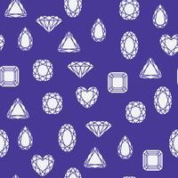 Modello di diamanti vettore