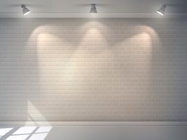 Muro di mattoni realistico