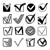 Set di caselle di controllo