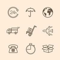 icone di consegna