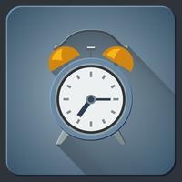 Icona della sveglia vettore