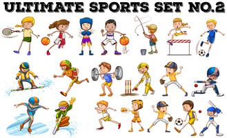 Diversi tipi di sport