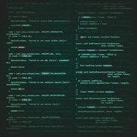 sfondo di ingegneria del software vettore