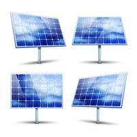 pannelli solari vettore