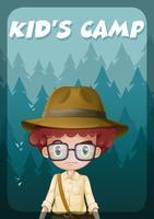 Un poster che mostra il campo di un bambino