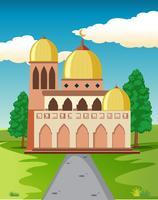 Una bella moschea in natura
