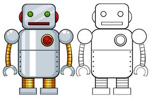 Giocattolo robot vettore