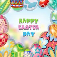 Progettazione del confine con il tema di Pasqua