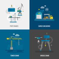 Set di attrezzatura per sollevamento vettore