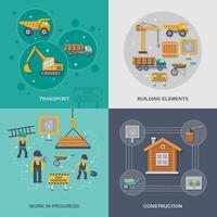 Set di costruzione piatta