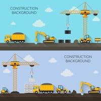 Illustrazione di sfondo di costruzione vettore