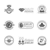Etichetta di gioielli preziosi
