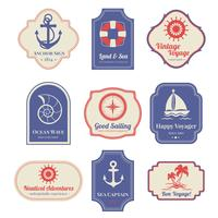Emblemi nautici impostati