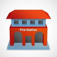 Edificio della caserma dei pompieri