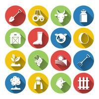 Agricoltura Icon Set