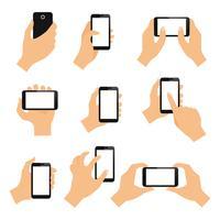Gesti delle mani touch screen