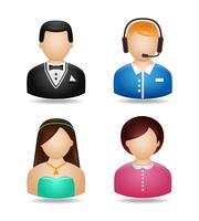 Set di caratteri avatar