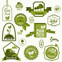 Etichette ecologiche verdi
