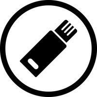 Icona di vettore del Usb