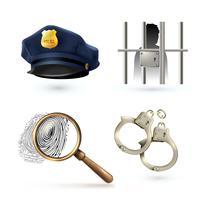 Set di icone di legge