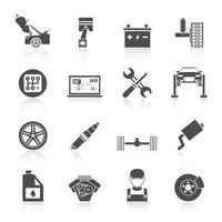 Icone di servizio automatico vettore