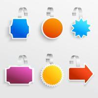 Set di colori wobbler