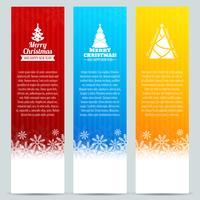 Set di banner di Natale