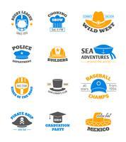 Set di francobolli cappello