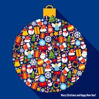 Palla di decorazione natalizia