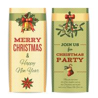 Banner di Natale verticale