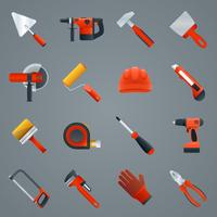 Riparare gli strumenti di costruzione vettore